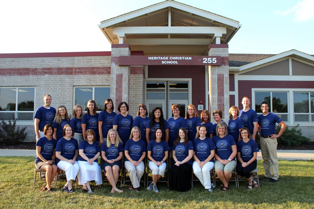 The Heritage Christian School Faculty and Staff